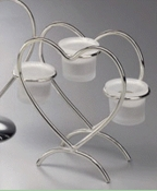 Tripple Candle Heart Centerpiece 21308