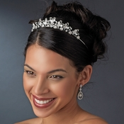 Crystal Butterfly Bridal Tiara HP 2165