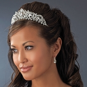 Silver Plated Bridal Tiara HP 8271