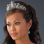 Silver Plated Bridal Tiara HP 8270