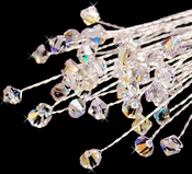 Swarovski Crystal AB Irridescent Bouquet Jewels BQ 205 (Set of 6)