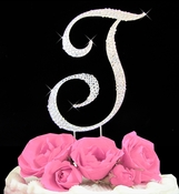 Completely Covered ~ Swarovski Crystal Wedding Cake Topper