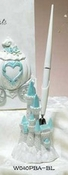 Majestic Light Blue Cinderella Castle Pen Set