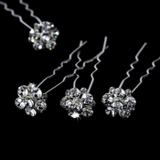 * Crystal Hair Pins KCS 0047 (Set of 12)