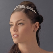 * Winter Snowflake Bridal Tiara HP 5439