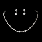 Crystal Cubic Zirconia Jewelry Set NE  6009