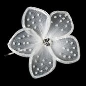 * Hair Pin 903 White