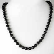 * Necklace 8324 Black *Only 1 Left*