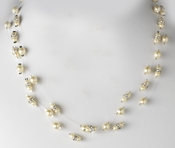 Necklace 8366 Ivory