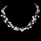 Necklace 8250 Silver Pearl