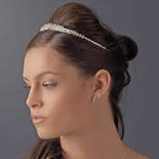 * Princess Rhinestone Majesty Bridal Tiara Headpiece 8414