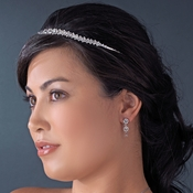 Stunning Crystal Bridal Headband HP 6455