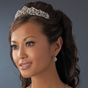 Channel Rose Bridal Tiara HP 7815