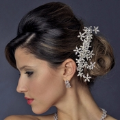 Swarovski Crystal Bridal Hair Comb 589