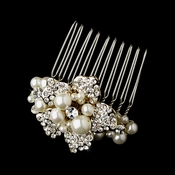 Gold Plated Bridal Comb 3473