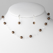 * Necklace Earring Set 207 Caramel **7 Left**