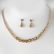 * Colorado Crystal Bridal Jewelry Set NE 231