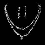 Layered Swavorski Crystal Jewelry Set NE 7199