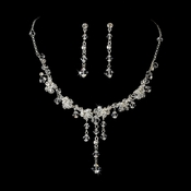 Necklace Earring Bridal Jewelry Set NE 7807