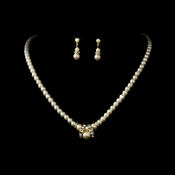 Necklace Earring Set NE 223 Gold