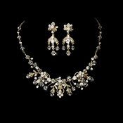 Crystal Couture Jewelry Set NE-6317 Gold