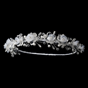 White Children's Headpiece 4770