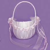 Bridal Flower Girl Basket FB 0260