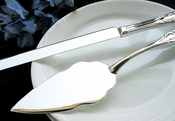 Elegent Wedding Cake Server Set  25592