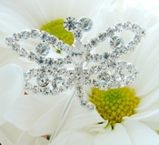 Dragonfly Crystal Bouquet Jewelry (Set of 2)