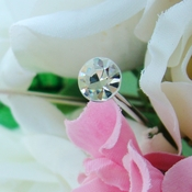 Bouquet Jewelry Petite Crystal Solataires