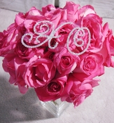 Hugs & Kisses Crystal Rhinestone Bouquet Jewelry XO