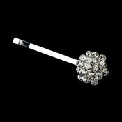 Simple and Stunning Rhinestone Cluster Hair Pin-40
