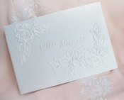 Guest Book 505 in English Ivory Only