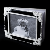 Fabulous Black & White Vintage Photo Guest Book 1759