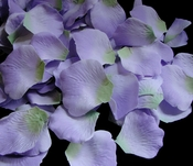 Lavender Two-Tone with Green Accent  Rose Petals (100 Count) #52