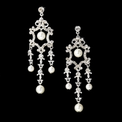Pearl Bridal Chandelier Earring E 8320