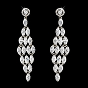 Stunning Cubic Zirconium Dangling Earrings E 1758