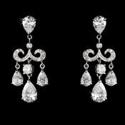 Gorgeous Chandelier Crystal Drop Earrings E 1576