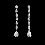 Gorgeous Cubic Zirconia Drop Earrings E 2167
