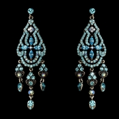 Dazzling Aqua Earrings E 988