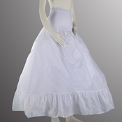 Full Bouffant Spandex Waist Petticoat PC 101 SP Small