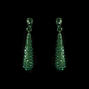 * Earring 8341 Green ***5 Pairs Left***