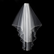 "2 Layer 30"" and 35"" Bridal Veil 139F"