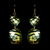 * Green Gold Earrings 8337 ** Discontinued**