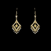 Earring 20381 Gold Clear