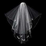 "Bridal Veil 123 White on comb (31"" x 39"" x 108""w)"