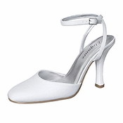 * Brittany Dyeable Bridal Wedding Shoes 5008