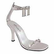 * Crystal Charm Formal Evening Shoes 5038