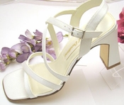 * Closeout Dyeable Bridal Shoe #6844