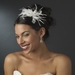 Bridal Feather Fascinator HP 8152